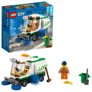 LEGO City Street Sweeper 60249 Construction Toy for Kids (89 Pieces)