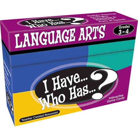 Teacher Created Resources I Have Who Has Language Arts Game, Multiple Grades