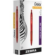 Zebra Pen Orbitz Retractable Gel Pens, 12 / Dozen (Quantity)