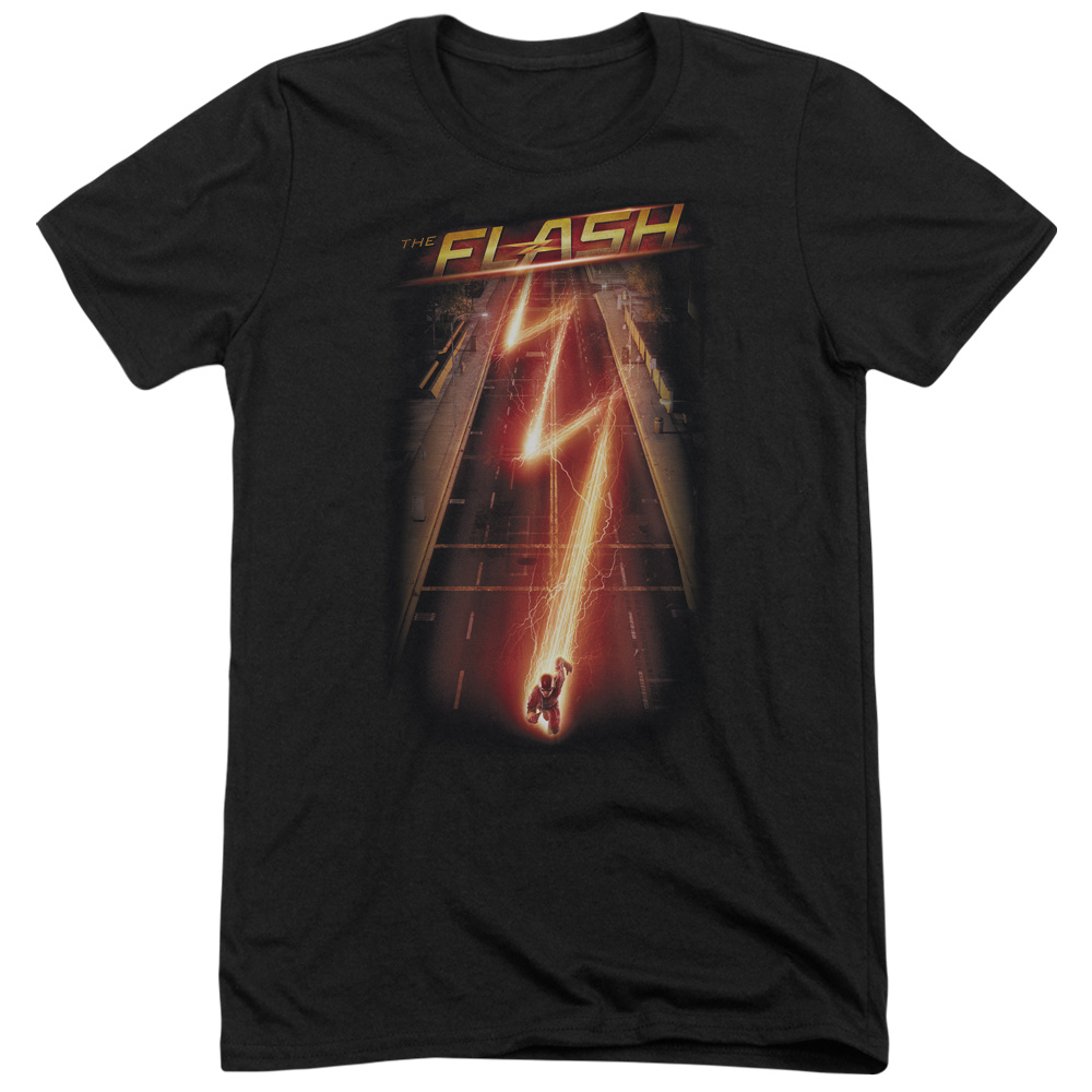 The Flash Flash Ave Mens Tri-Blend Short Sleeve Shirt