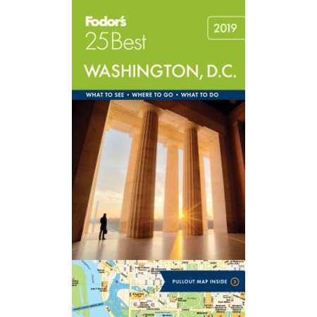 Fodor's Washington D.C. 25 Best - Paperback (Best Sights In Washington Dc)