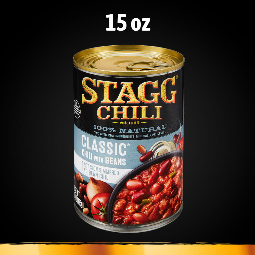 Stagg Chili Ingredients
