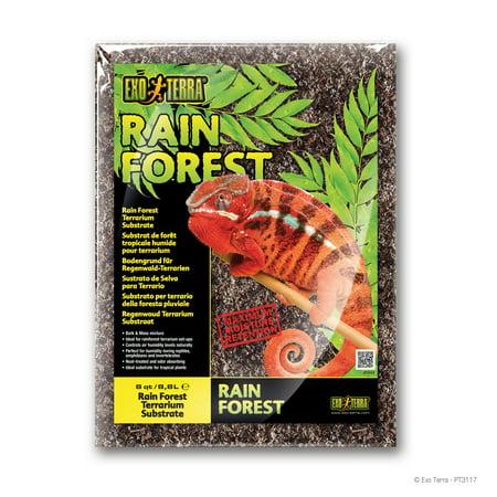 Exo Terra Rain Forest Substrate (8 Quart, 8.8 Liter) (Rainforest Substrate)