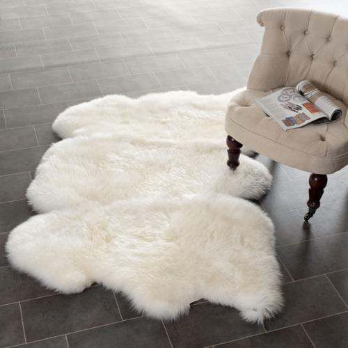 white shag rug. Safavieh Prairie Natural Pelt Sheepskin Wool White Shag Rug (3\u0027