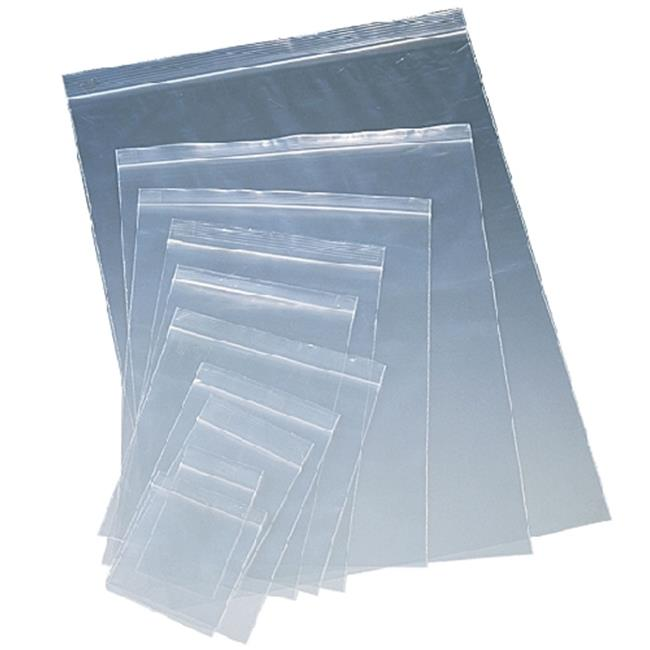 New World Imports NWI-ZIP88-100 Clear Resealable Bag 8 X 8 In. 2 Mil, Case Of 100 by New World Imports