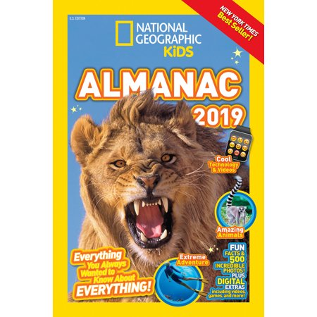 National Geographic Kids Almanac 2019 (Paperback)