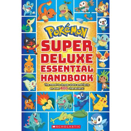 Pokémon Super Deluxe Essential Handbook: The Need-To-Know Stats and Facts on Over 800 Characters - 2 Halloween Facts