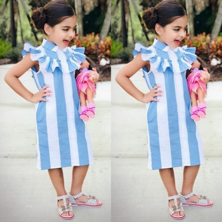 Beautiful Baby Girls Fashion Princess Party Pageant Slim Sleeveless Dress Beautiful Baby Girl Name