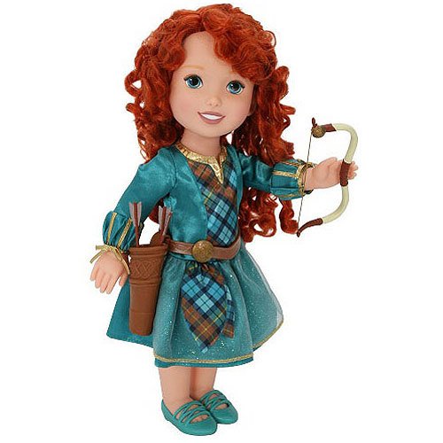 Disney Princess Brave Merida Doll with Bow and Arrows