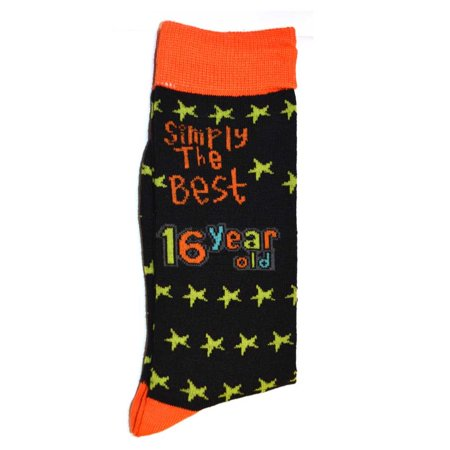 Simply The Best Age 16 Year Old Socks