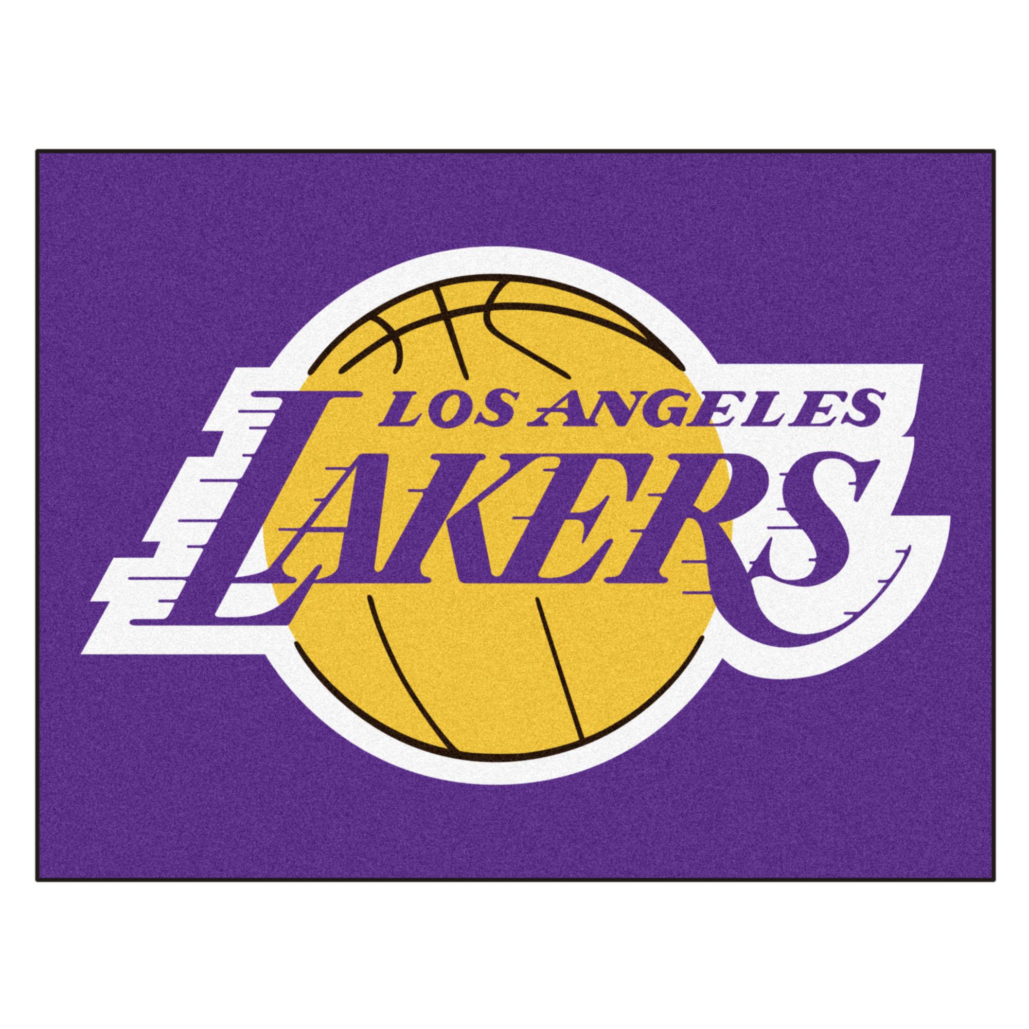 "NBA - Los Angeles Lakers All-Star Mat 33.75""x42.5"""