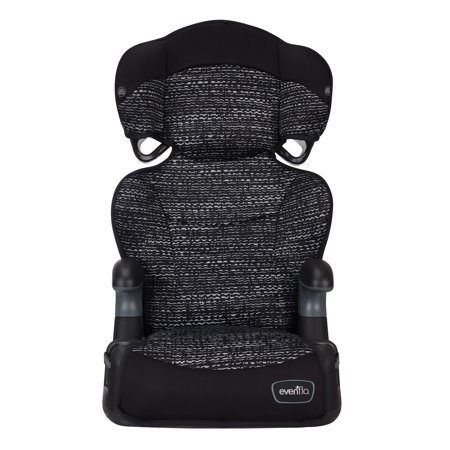 Evenflo BIg Kid LX High Back Booster, Static (Evenflo Amp High Back Booster Car Seat Carrissa)