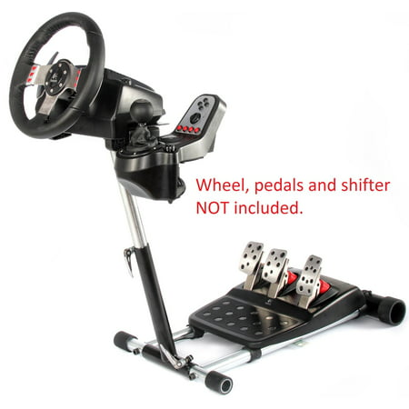 Wheel Stand Pro G Racing Steering Wheel Stand Compatible With Logitech G27/G25, G29 and G920 Wheels, Deluxe, Original V2 Stand. Wheel and Pedals Not included.