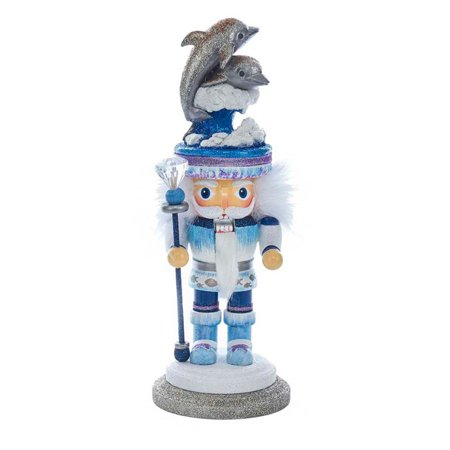 Kurt S. Adler 12 in. Dolphin Hat Nutcracker