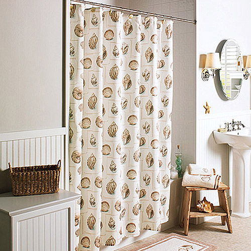 Better Homes and Gardens Shells Shower Curtain