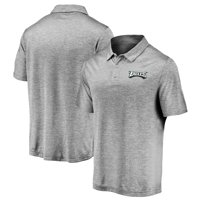 Men's Fanatics Branded Gray Philadelphia Eagles TX3 Primary Wordmark Polo