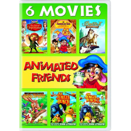 Animated Friends 6-Movie Collection (DVD) (Animated Movie Collection)