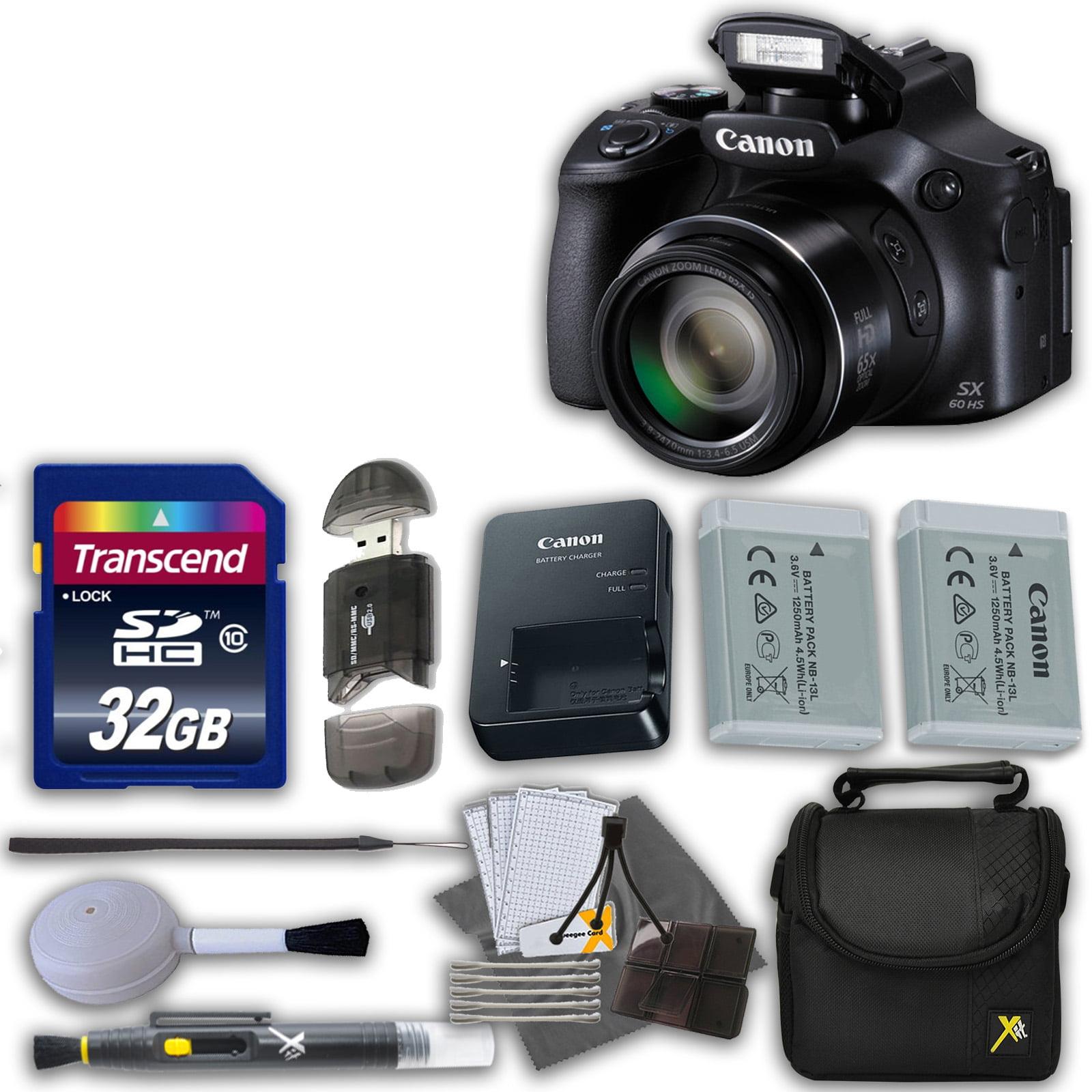 Canon Powershot SX60 16.1MP Digital Camera 65x Optical Zo...