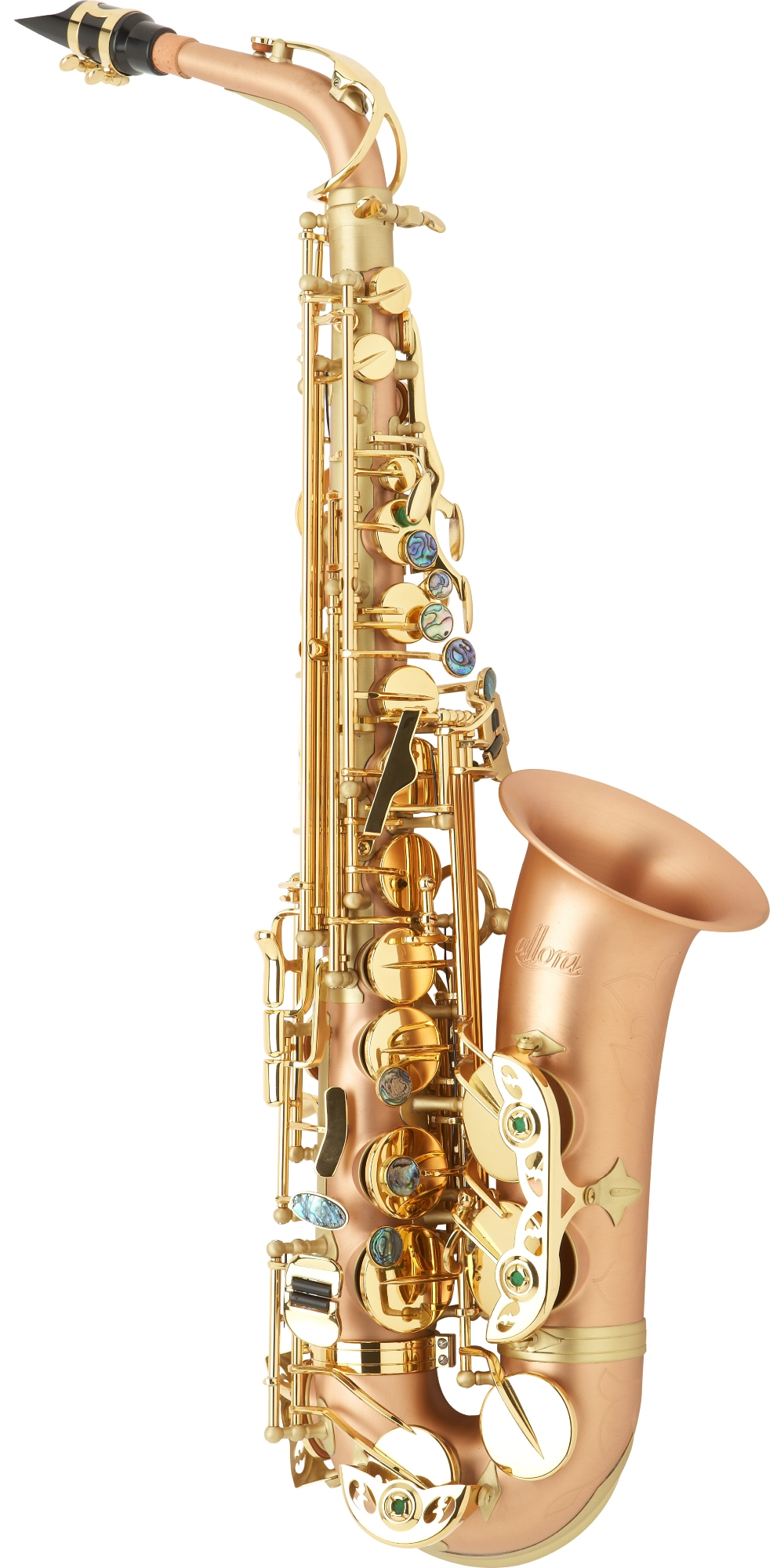 Allora Boss 2 Professional Alto Saxophone AAAS-908 Copper Body Brass Lacquer Keys by Allora