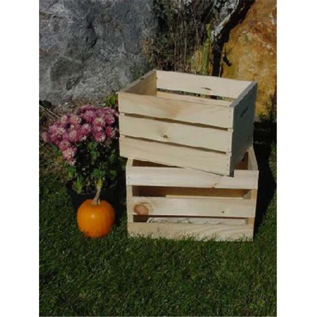 All Maine Bucket C4 Small Pine Crate Gray