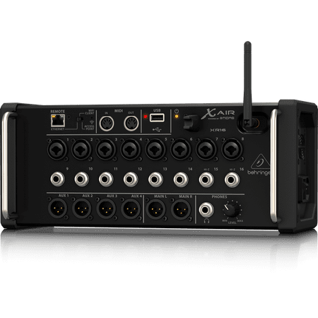Behringer X Air XR16 16-Input Digital Mixer, Tablet Compatible, 8 Programmable Preamps, 8 Inputs, Wifi Module & USB (Behringer X V Amp Lx1 X Review)