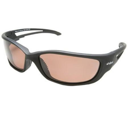 Kazbek XL Polarized Blk Frame w/Copper (Edge Polarized Glasses)