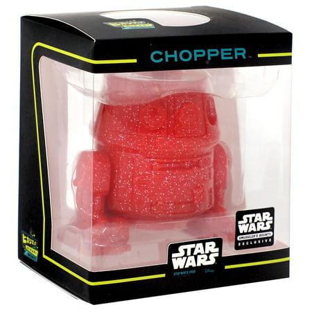 Funko Star Wars Hikari Minis Japanese Vinyl Chopper Vinyl Figure [Red]