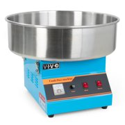 VIVO Blue Electric Commercial Cotton Candy Machine / Floss Maker (CANDY-V001B)