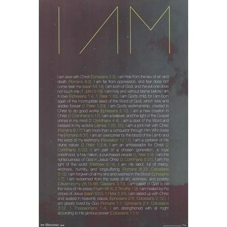 C.1511 Poster Print - I Am Poster Print