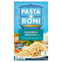 (8 Pack) Pasta Roni Chicken & Broccoli Linguine, 4.7 oz Box