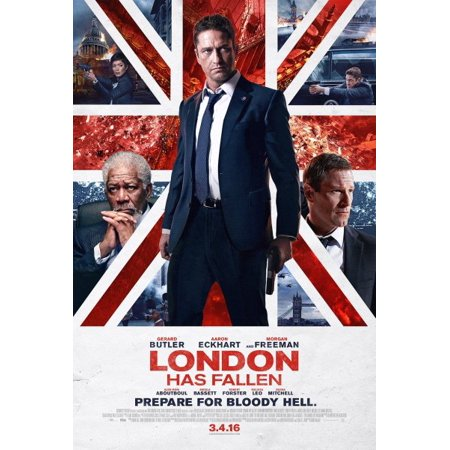 London Has Fallen (DVD) - Halloween Movie Marathon London