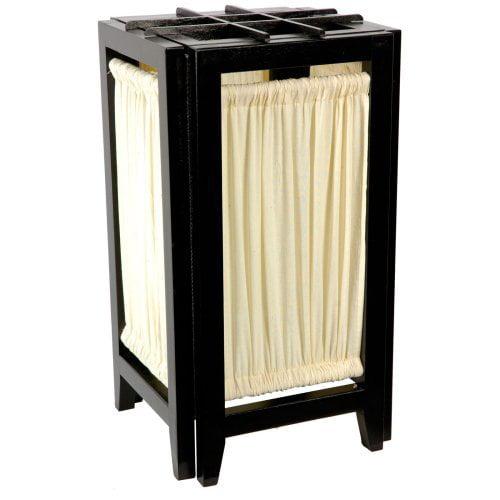 Oriental Furniture Helsinki Lamp - Black