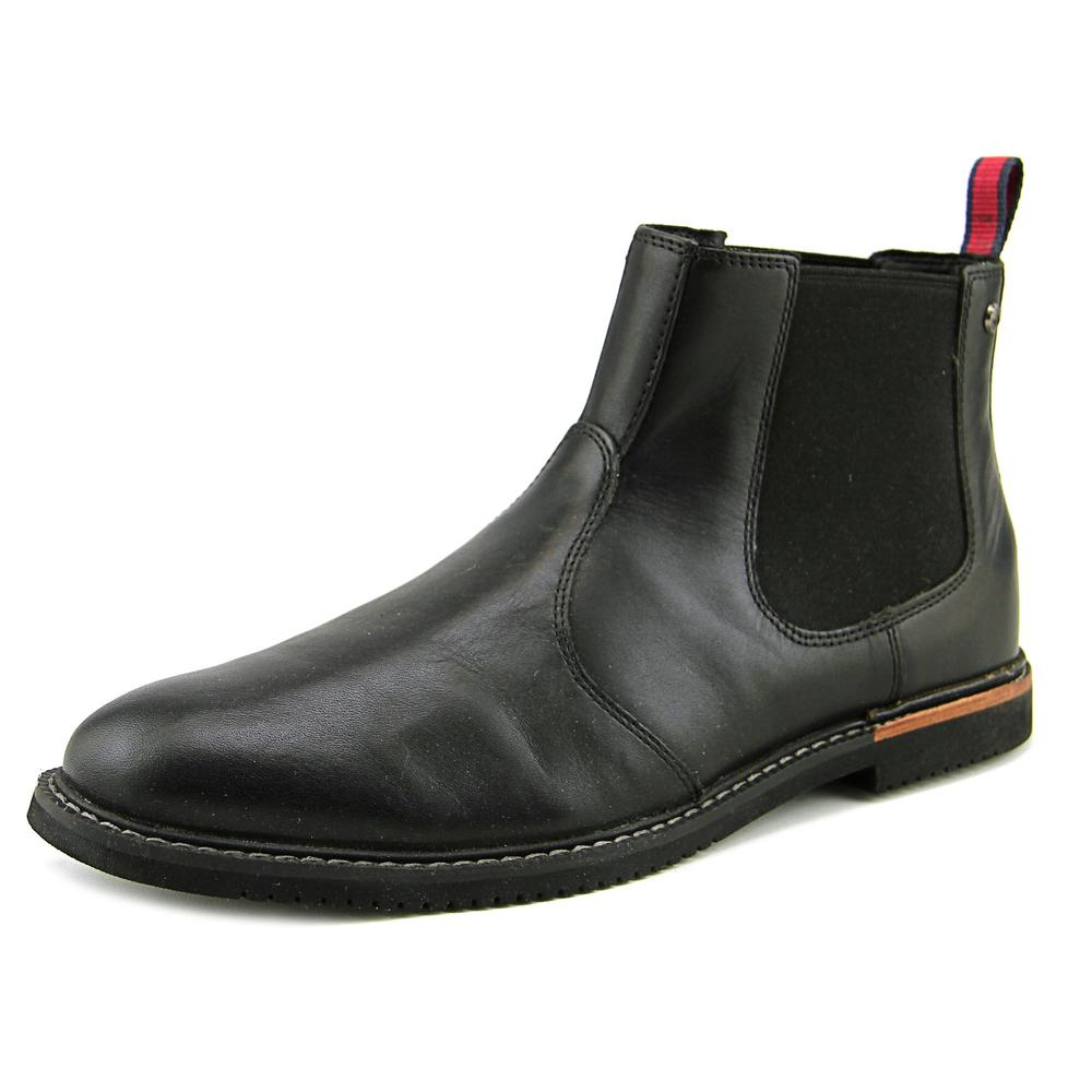 Timberland Earthkeepers Brook Park Chelsea (Black Smooth) Men's Dress Pull-on Boots