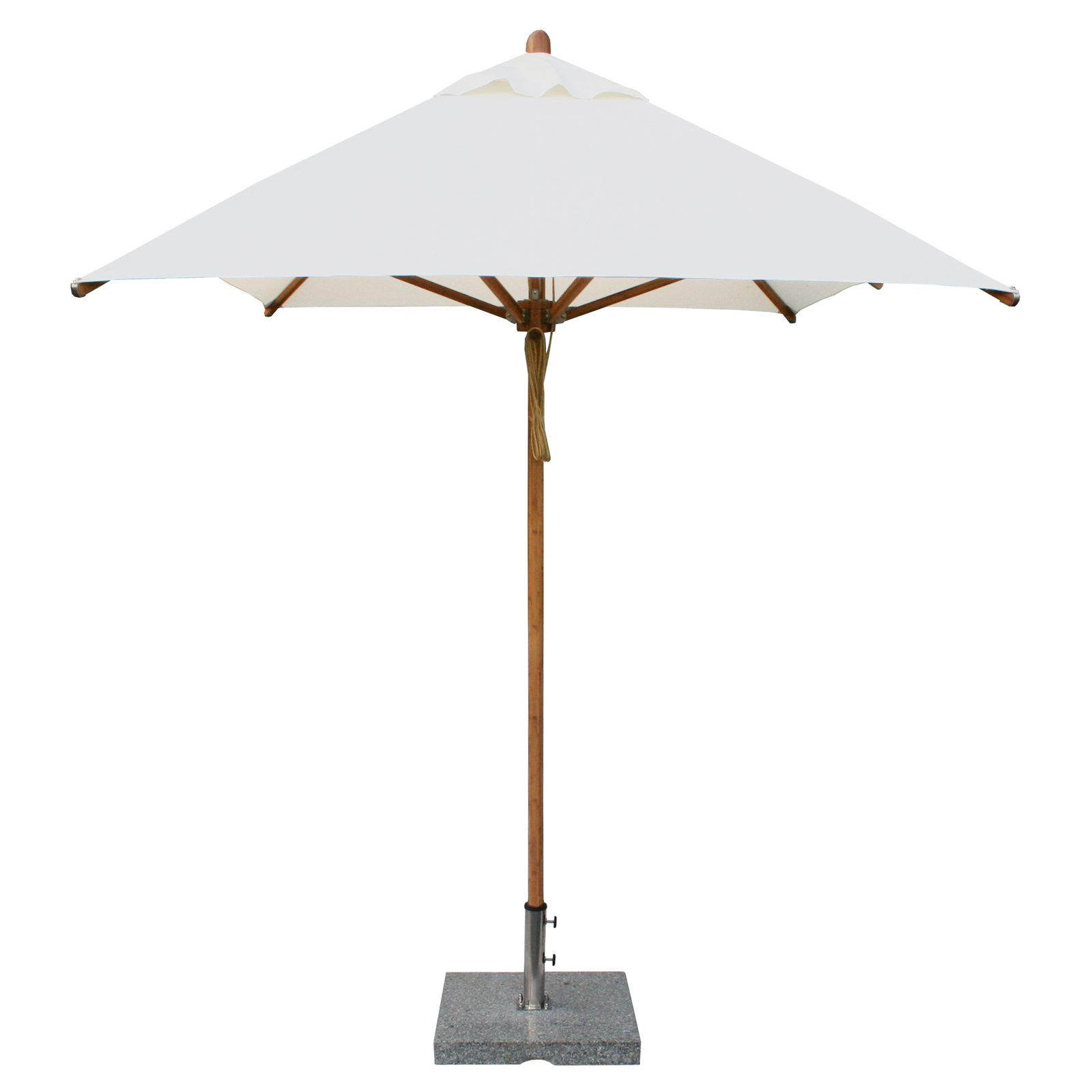 bambrella levante 6 5 x 10 ft rectangular bamboo market patio
