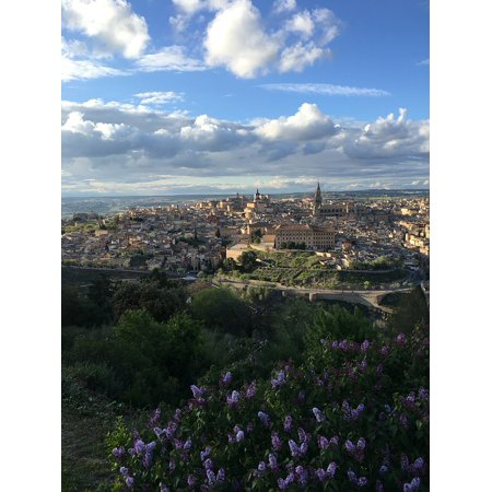 LAMINATED POSTER Landscape Sky Urban Skyline Toledo City Poster Print 24 x 36 - Party City Toledo