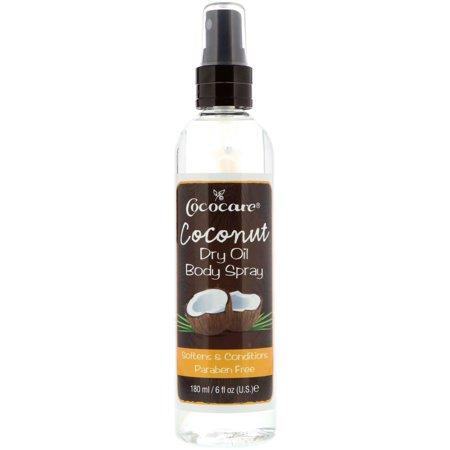 Cococare  Coconut Dry Oil Body Spray  6 fl oz  180 ml