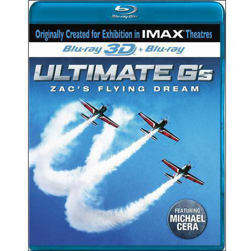 Ultimate G's: Zac's Flying Machine (IMAX) (Blu-ray) (3D) (Widescreen)