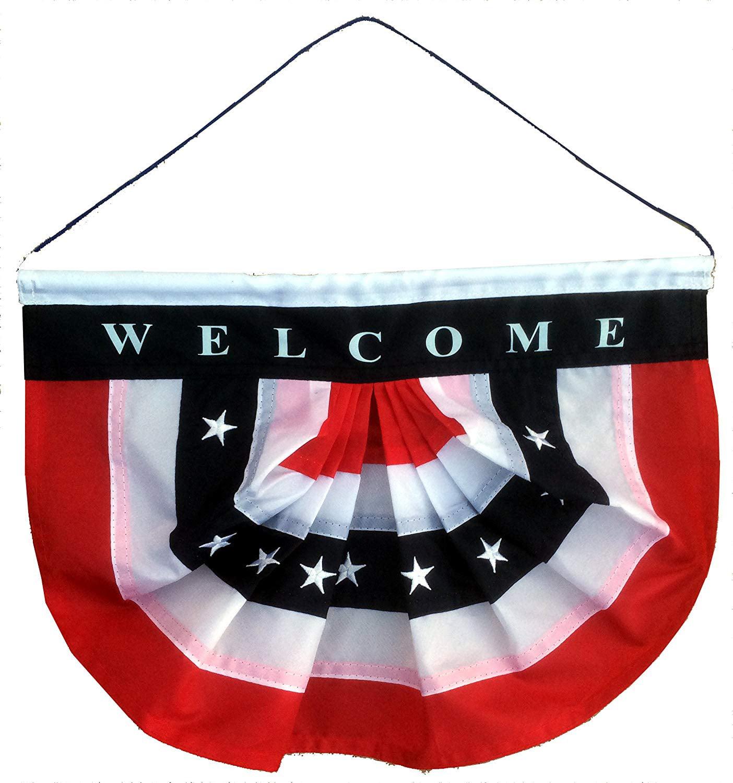 GiftWrap Etc. Patriotic Welcome Sign Front Door - Porch ...