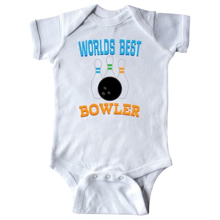 Bowling Worlds Best Bowler Sports Infant Creeper