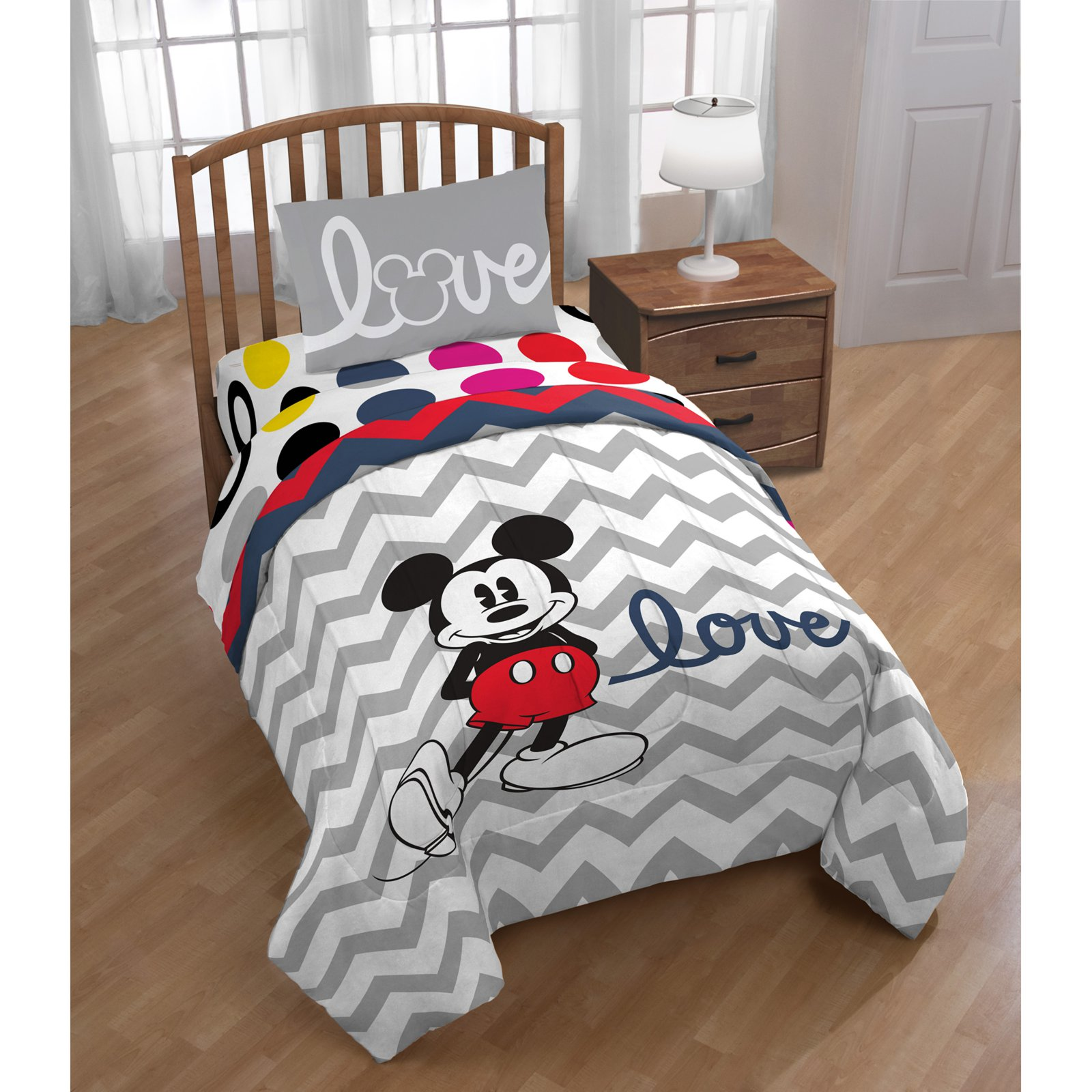 Mickey Reversible Comforter by Disney