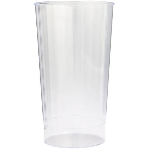 16oz Clear Plastic Tumblers, 8ct by Unique Industries