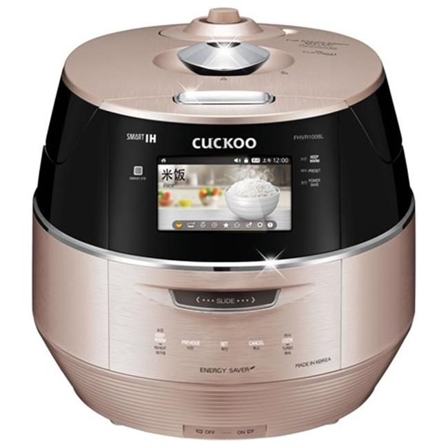 Cuckoo CRP-FHVR1008L 10 Cup LCD Display Induction Heating Electric Pressure Rice Cooker, 120V