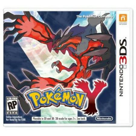 Pokemon Y, Nintendo, Nintendo 3DS, 045496742508 (Pokemon X Target)