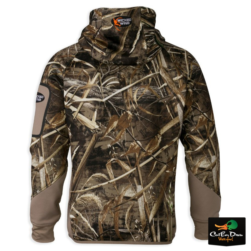 dbf22189f6bea Browning - Browning Wicked Wing Smoothbore Fleece Hoodie, Mossy Oak Shadow  Grass Blades - Walmart.com