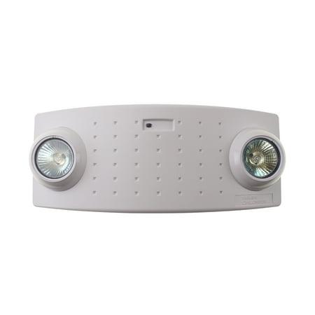 Philips Chloride VA6 Emergency Lighting, Bugeye, 2 Light MR16, Battery, White