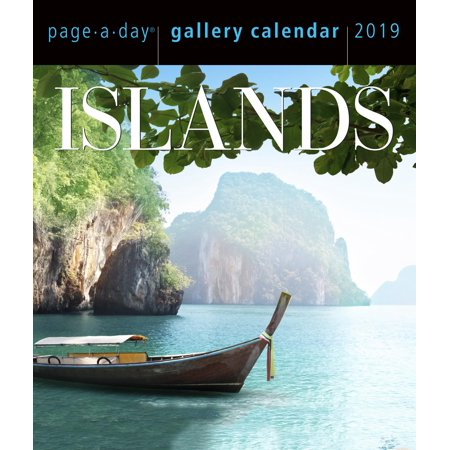 Islands Page-A-Day Gallery Calendar 2019 (Other)