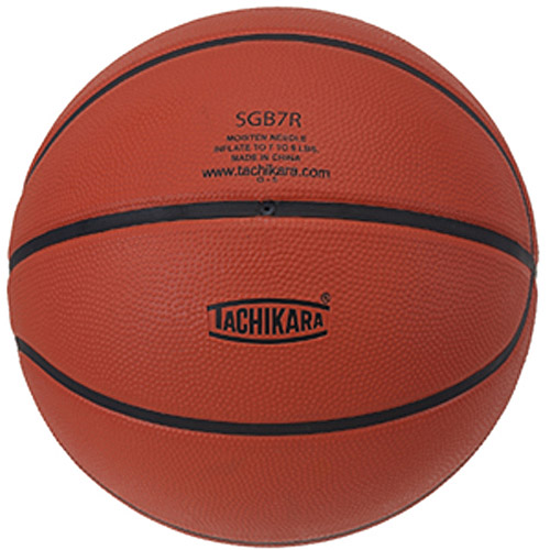 Tachikara Rubber Recreational Basketball, Brown
