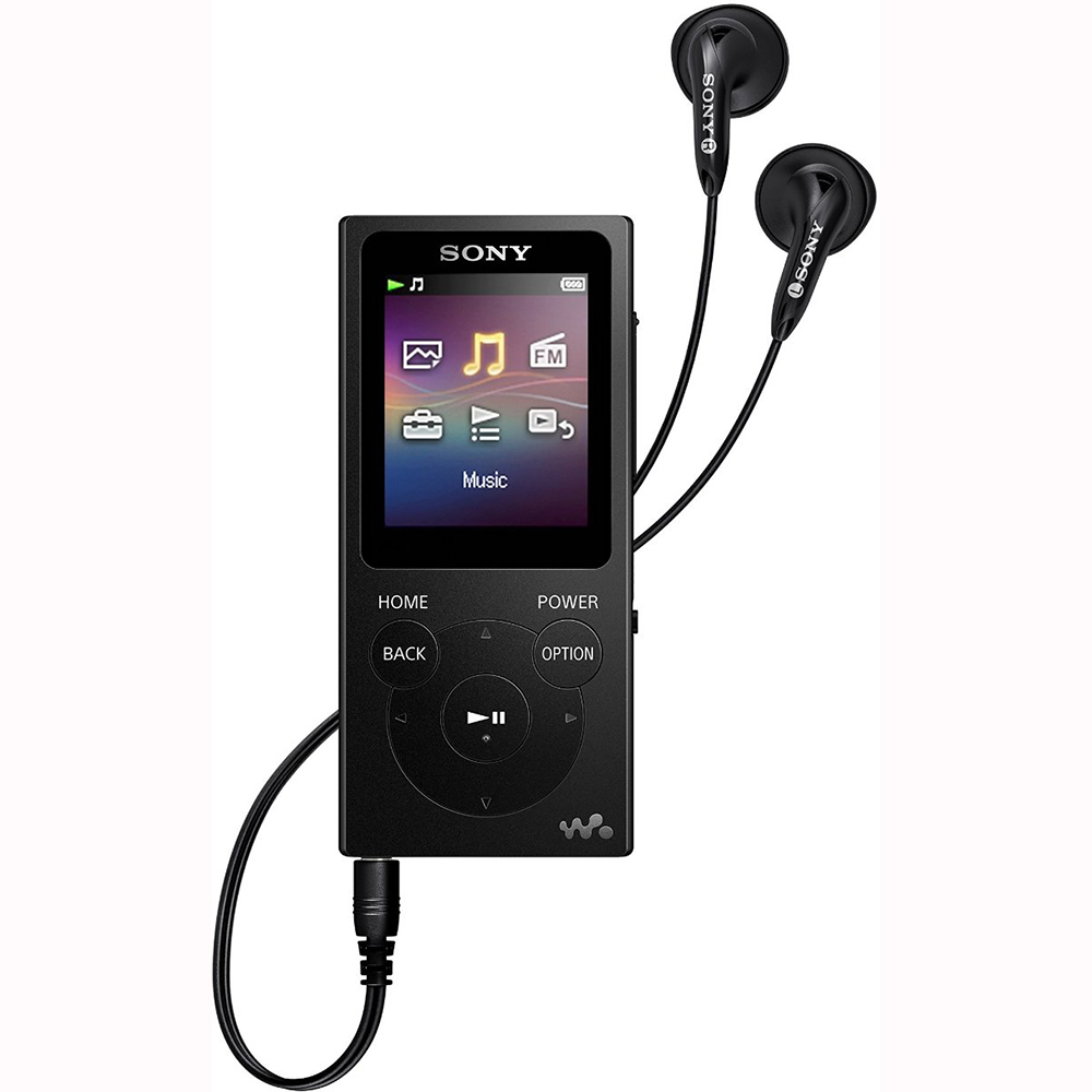 Sony NW-E393 4GB Walkman Digital Music MP3 Audio Player - Black