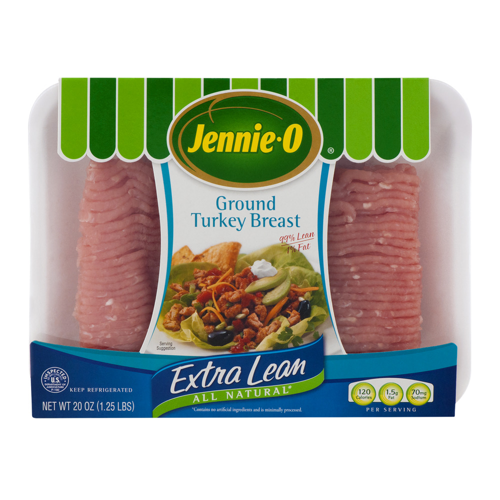 Jennie-O Ground Turkey Breast Extra Lean, 20.0 OZ