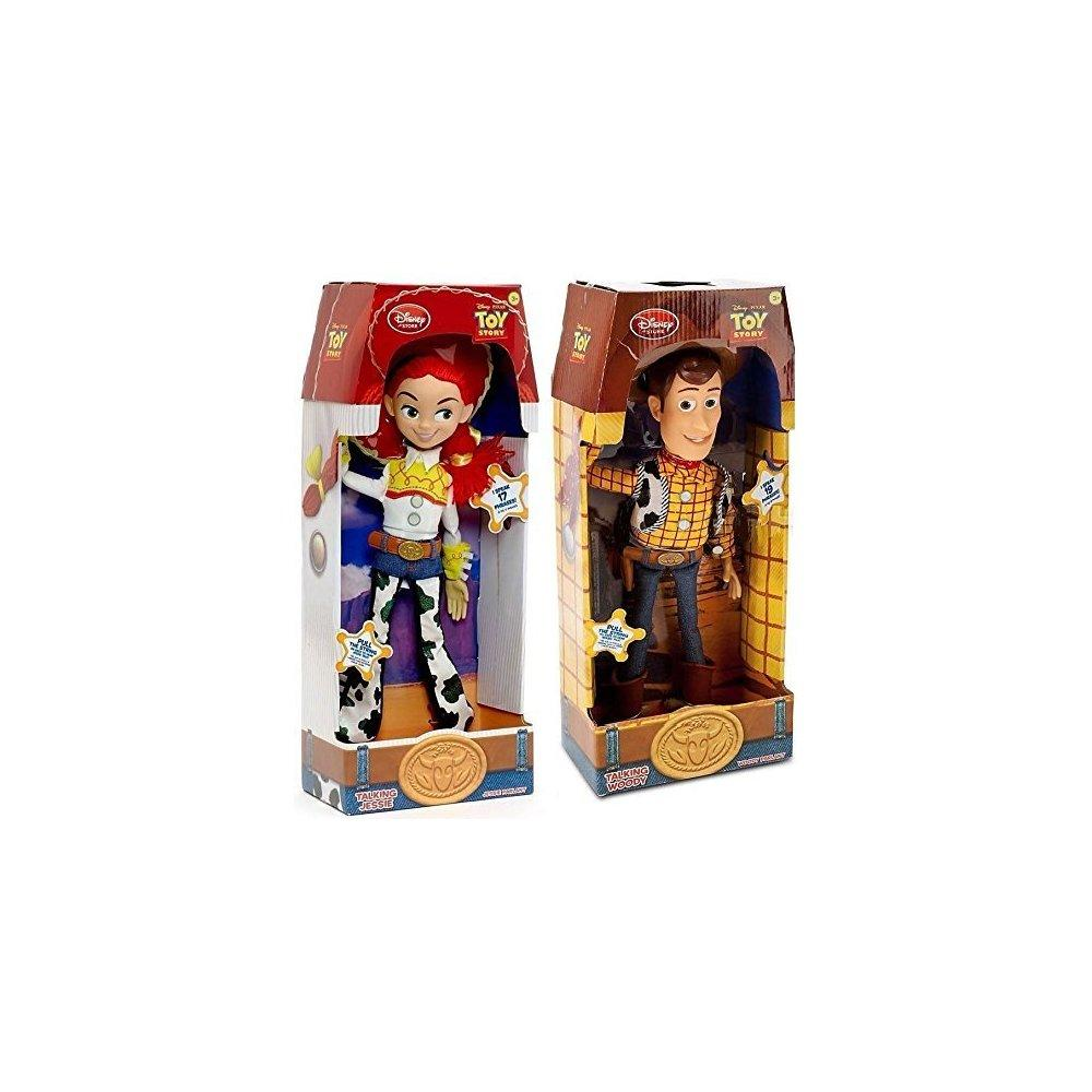 Disney store exclusive toy story 3 talking woody and jess...
